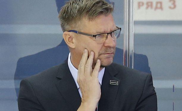 Jukka Jalosen Jokerit hävisi Sotshille 2-3.