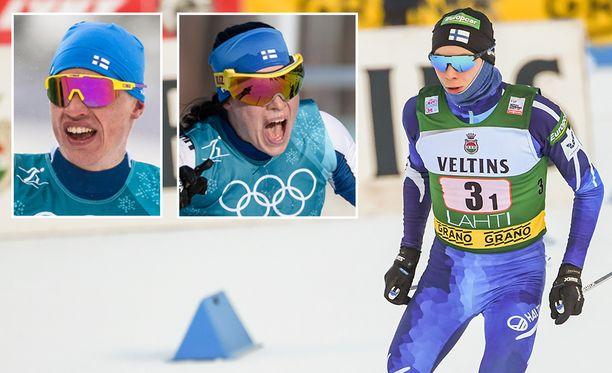 Iivo Niskanen, Krista Pärmäkoski ja Eero Hirvonen ovat Salppurin sunnuntain suuret suomalaisnimet.