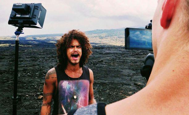 Näissä maisemissa Pete Parkkonen kuvasi musiikkivideotaan.