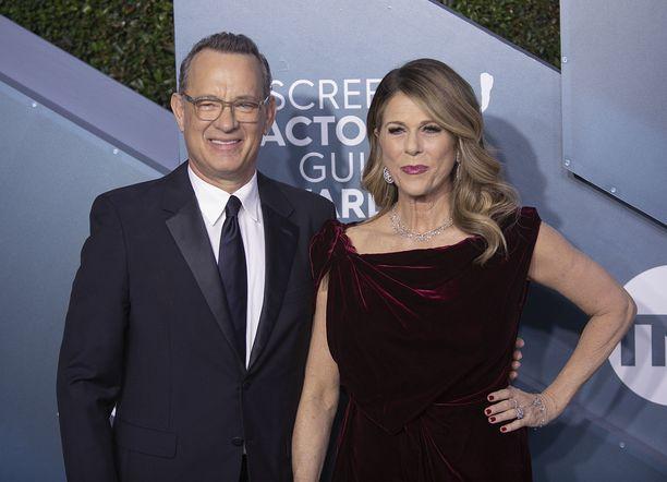 Tom Hanks ja Rita Wilson ovat jo parantuneet koronasta.