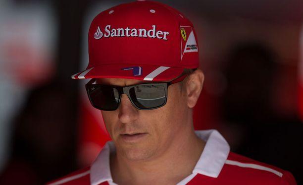 Kimi Räikkönen onnistui Silverstonen aika-ajossa hienosti.