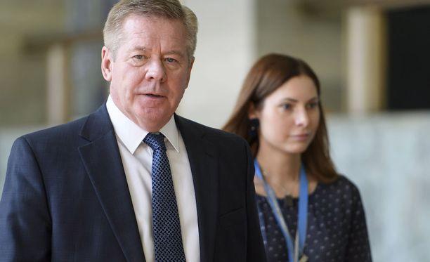 Venäjän apulaisulkoministeri Gennadi Gatilov puhui tiukasti YK:n turvallisuusneuvoston ministerikokouksessa.