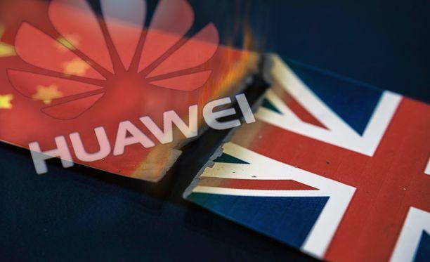 Britannia rajoittaa Huawein laitteiden käyttöä.
