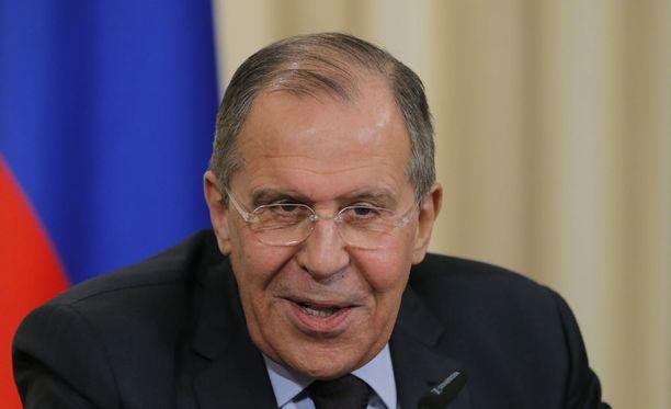 Venäjän ulkoministerin Sergei Lavrov vierailee Suomessa torstaina.