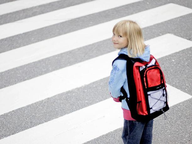 Ensimmäinen koulupäivä on aina hieman jännittävä.