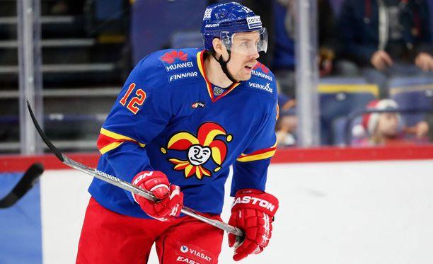 Marko Anttila siirtyi Jokereihin tälle kaudelle, pelattuaan sitä ennen kaksi ja puoli kautta Ruotsissa Örebron joukkueessa.