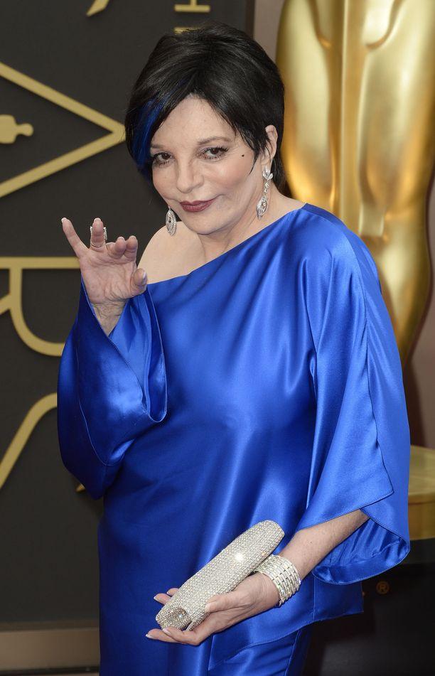 Liza Minnelli on ollut vuosikymmenet mukana viihdebisneksessä. Kuva vuodelta 2014.