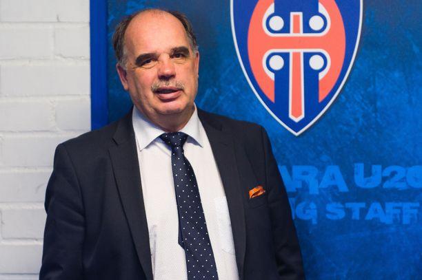 Mikko Leinonen hyvästeli Tapparan.