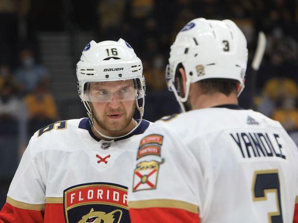 Aleksander Barkov oli jälleen iskussa, kun Florida kaatoi Nashvillen.