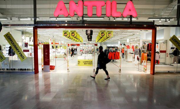 Kesko ilmoitti jo keväällä sulkevansa kahdeksan Anttila-tavarataloa.