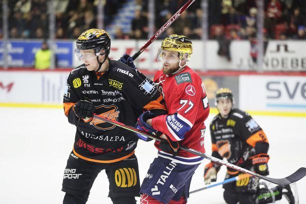 KooKoo ja HIFK pelasivat vastakkain perjantaina. Kuva viime kaudelta.
