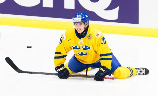 Lukas Bengtsson on edustanut Ruotsia nuorten maajoukkueissa.