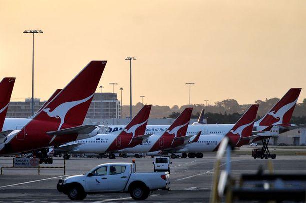 Huumeiden salakuljetuksesta epäillyt jäivät kiinni Sydneyn lentokentällä Australiassa.