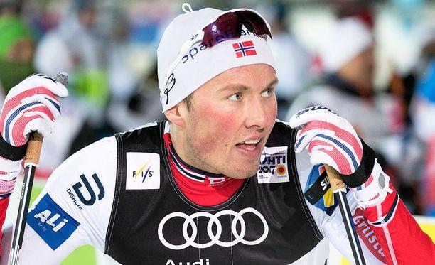Emil Iversen on taas lähdössä kotiin.