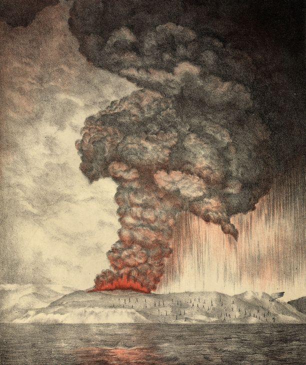 Krakataun purkaus aiheutti maailmanhistorian järjettömimmän pamauksen, joka oli voimakkuudeltaan 285 desibeliä.