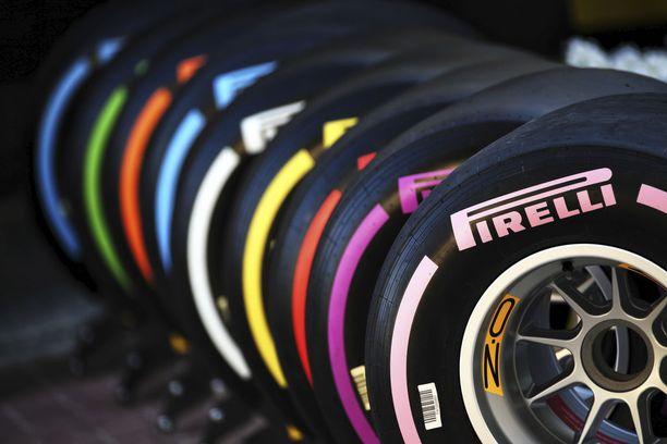 Pirelli laajentaa palettiaan peräti seitsemään eri kuivan kelin rengasseokseen.