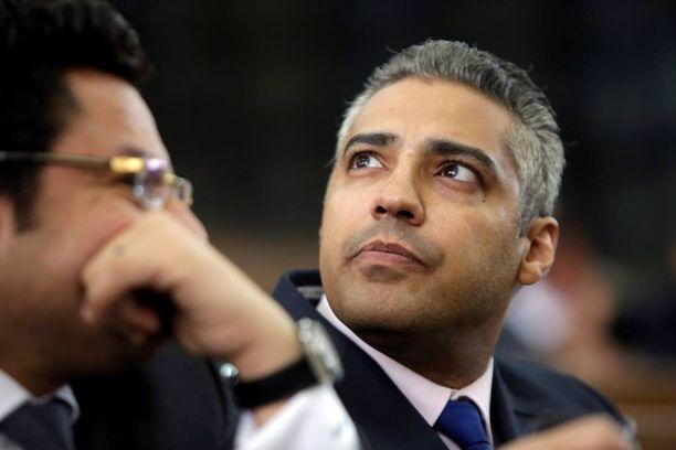 Kanadalainen toimittaja Mohamed Fahmy on armahdettujen joukossa.