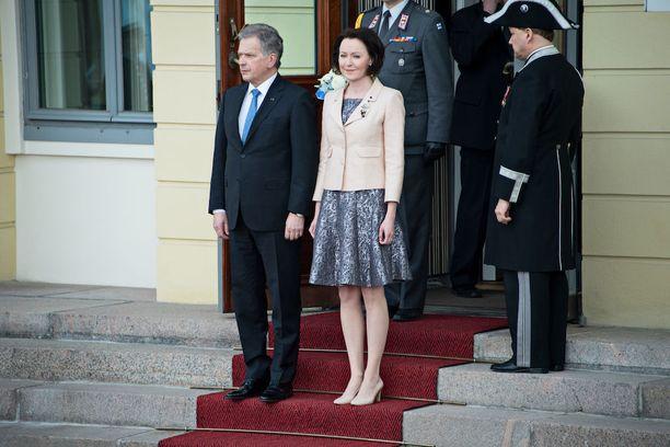 Sauli Niinistö ja Jenni Haukio ovat olleet naimisissa kahdeksan vuotta.