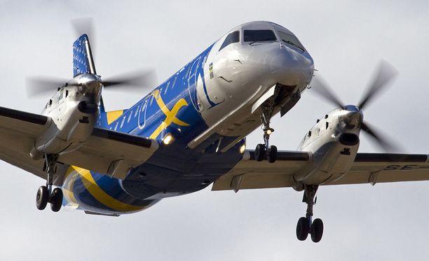 Nextjetin lento Tukholmasta Kokkolaan oli lähes 20 tuntia myöhässä viime sunnuntaina.