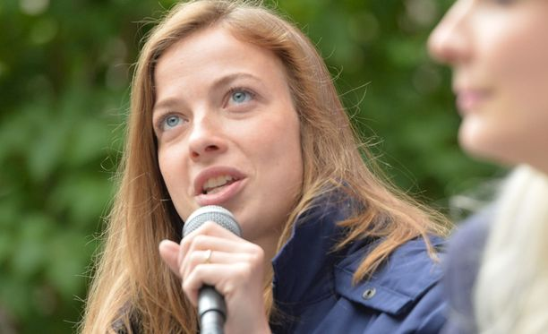 Vasemmistoliiton kansanedustaja Li Andersson.
