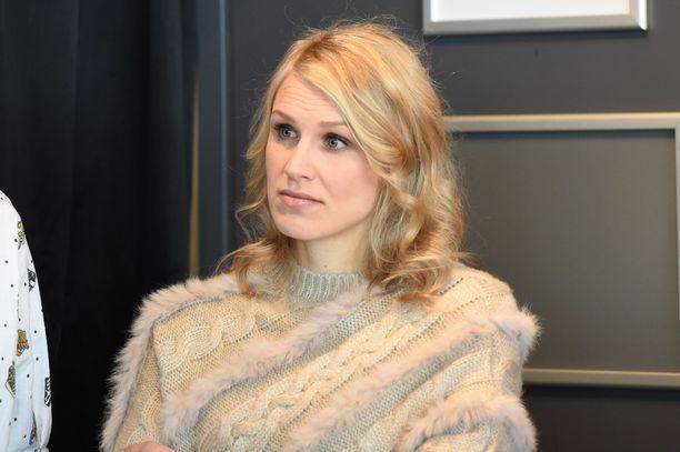 Minna Kauppi lopetti aktiiviuransa vuonna 2015.