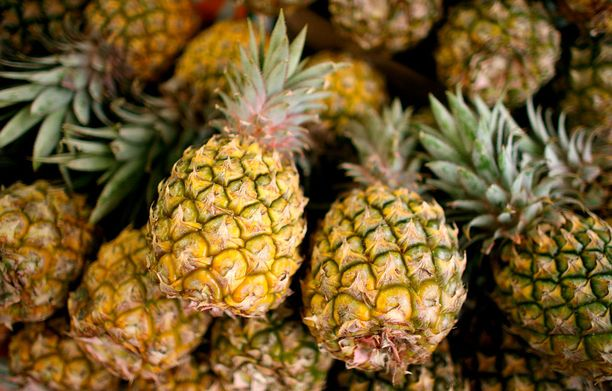 Tytön ananasallergia oli yleisessä tiedossa.