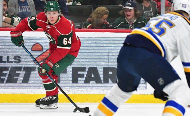 Mikael Granlund johdattaa Minnesotaa kohti menestystä.
