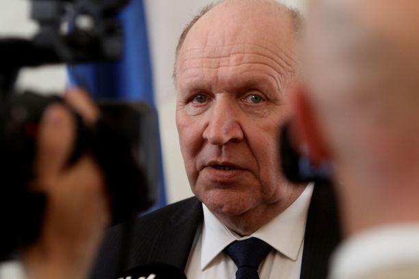 Mart Helme on Viron sisäministeri ja Ekre-puolueen entinen puheenjohtaja.