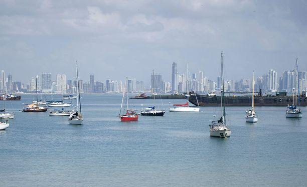 Panama Cityn pilvenpiirtäjiä.