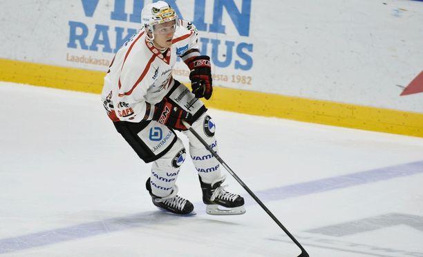 Sportin Teemu Tallberg on tehnyt tällä kaudella vain yhden maalin.