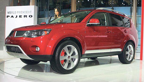 Outlander on yksi Mitsubishin nousun tukijaloista.