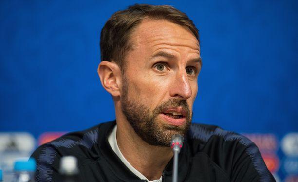 Gareth Southgaten Englanti kohtaa Ruotsin.