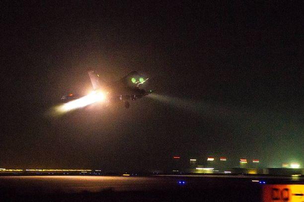 Ranskan ilmavoimat on osallistunut aktiivisesti Isisin vastaisiin iskuihin Irakissa ja Syyriassa.