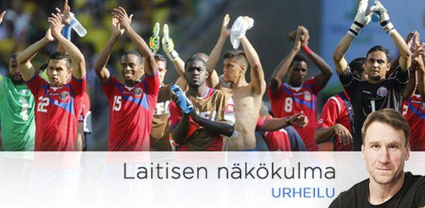 Costa Rica on yllättänyt koko jalkapallomaailman näissä MM-kisoissa.