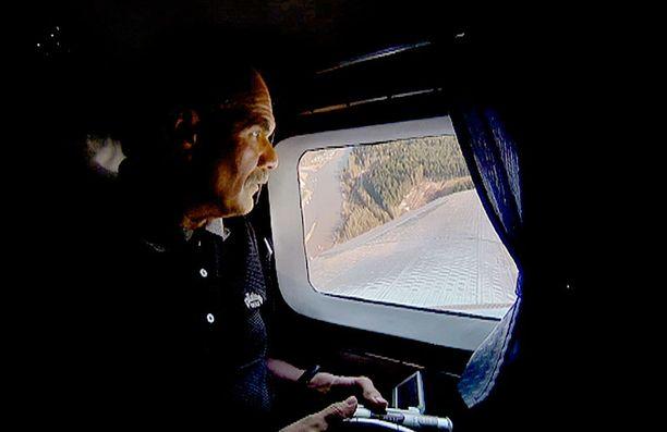Håkan Sandberg innostui tutkimaan lento-onnettomuutta jo teini-ikäisenä.