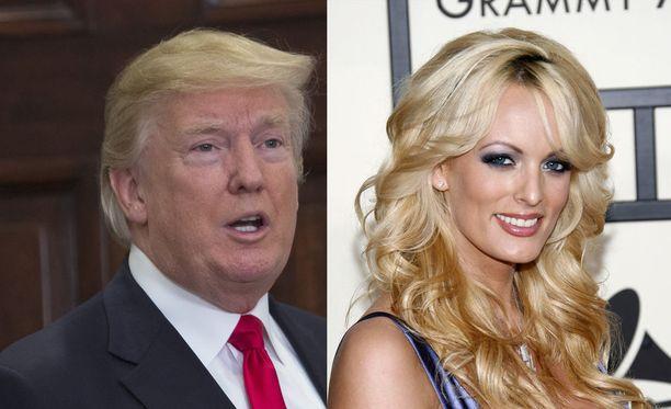 Valkoinen talo ja Stormy Daniels (Stephanie Clifford) ovat kiistäneet, että Trumpin juristi olisi maksanut Cliffordille rahaa, jotta tämä ei kertoisi heidän suhteestaan julkisesti.