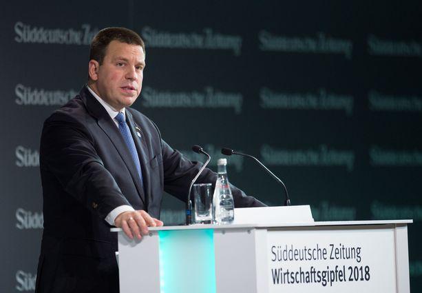 Viron pääministeri Jüri Ratas lähetti Iltalehdelle kirjallisen lausuntonsa.