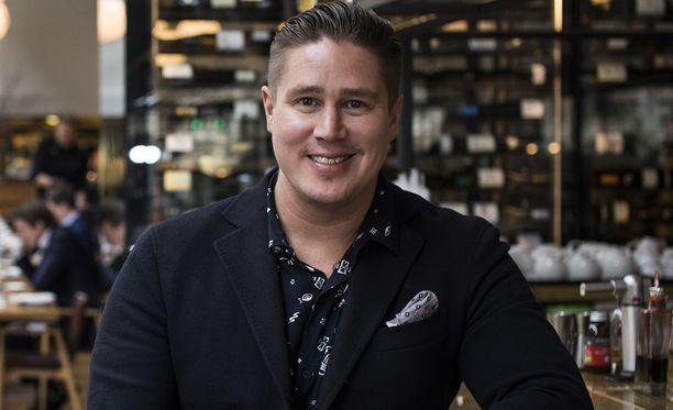 Ravintoloitsija Tomi Björck, 37, asuu perheensä kanssa Australiassa.