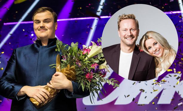 Aksel Kankaanrantakin nähdään tänään Mikko Silvennoisen ja Krista Siegfridsin vieraana kello 18.05 alkavassa Yle Olohuoneen Euroviisustudiossa.