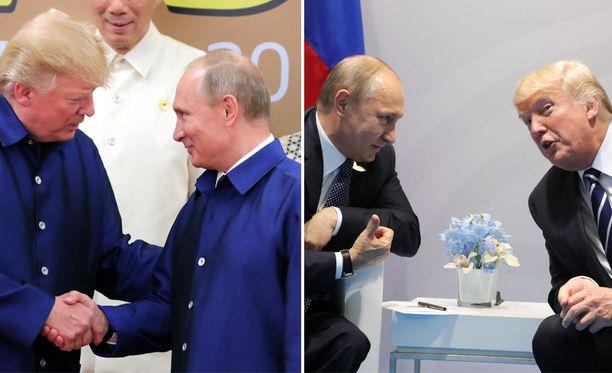 Trump ja Putin ovat vaihtaneet kuulumisia kasvokkain Vietnamissa marraskuussa ja Saksassa viime heinäkuussa.