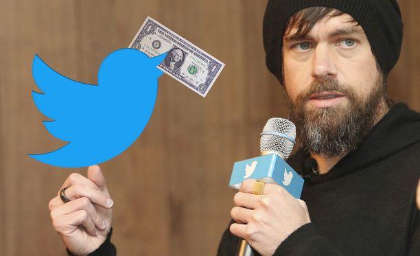 Twitterin toimitusjohtaja Jack Dorsey nosti palkka reilun euron verran.