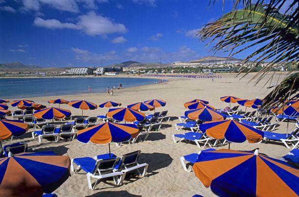 Kanarian suosio on ja pysyy. Esimerkiksi Fuerteventura kiinnostaa tänä talvena.