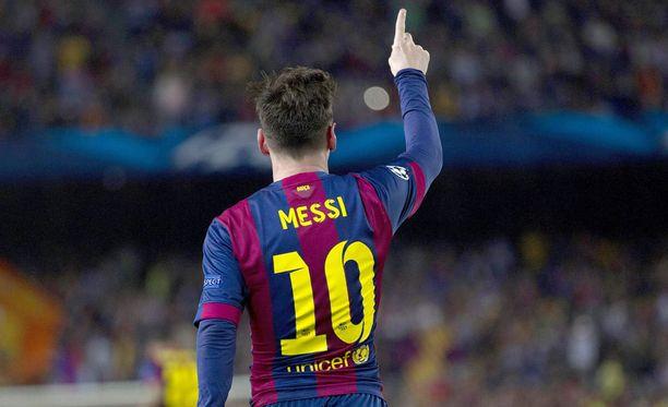 Lionel Messi näytti olevansa maailman paras.