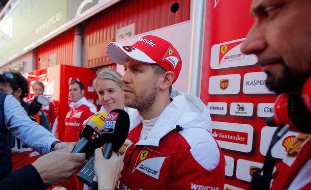 Sebastian Vettel puhui turvallisuuden puolesta.