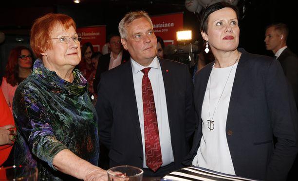 Antti Rinnettä Tuula Haataisen rökäletappio ei harmita, vaan hän kiitti Haataista hyvin käydystä kampanjasta.