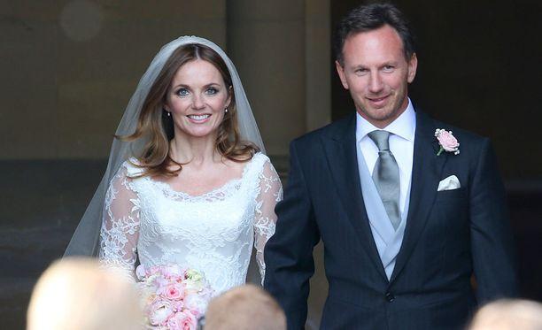 Geri meni naimisiin toukokuussa.