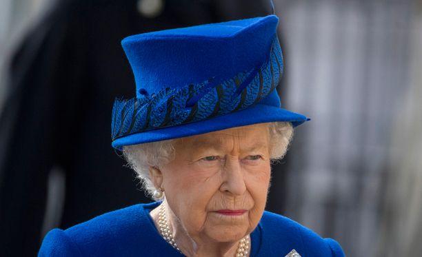 Kuningatar Elisabetin vierailulla nähtiin hauska episodi.