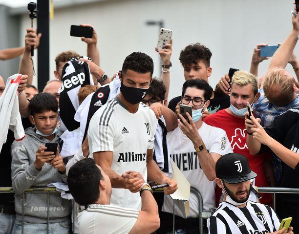 Cristiano Ronaldo lisäsi Juventuksen suosiota 2018.