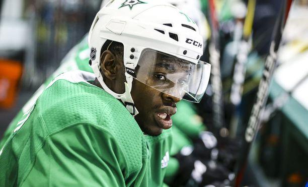 Jermaine Loewen tavoittelee syksyn harjoitusleirillä paikkaa Dallas Starsin NHL-miehistöstä.