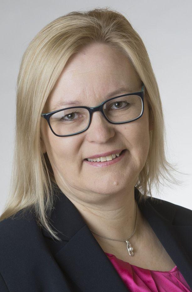 Kansanedustaja Ulla Parviainen (kesk).
